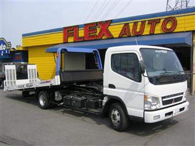 自慢のセーフティーローダーで日本全国ご自宅まで納車致します!