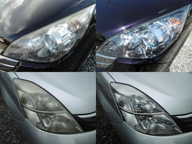 全車ライトコーティン済み!(ガラス系コーティング)他社の自動車とは格段に輝きが違います!中古車はどこで買っても一緒では有りません!当社は値段だけではなくワンランク上の中古車をご提供致します!